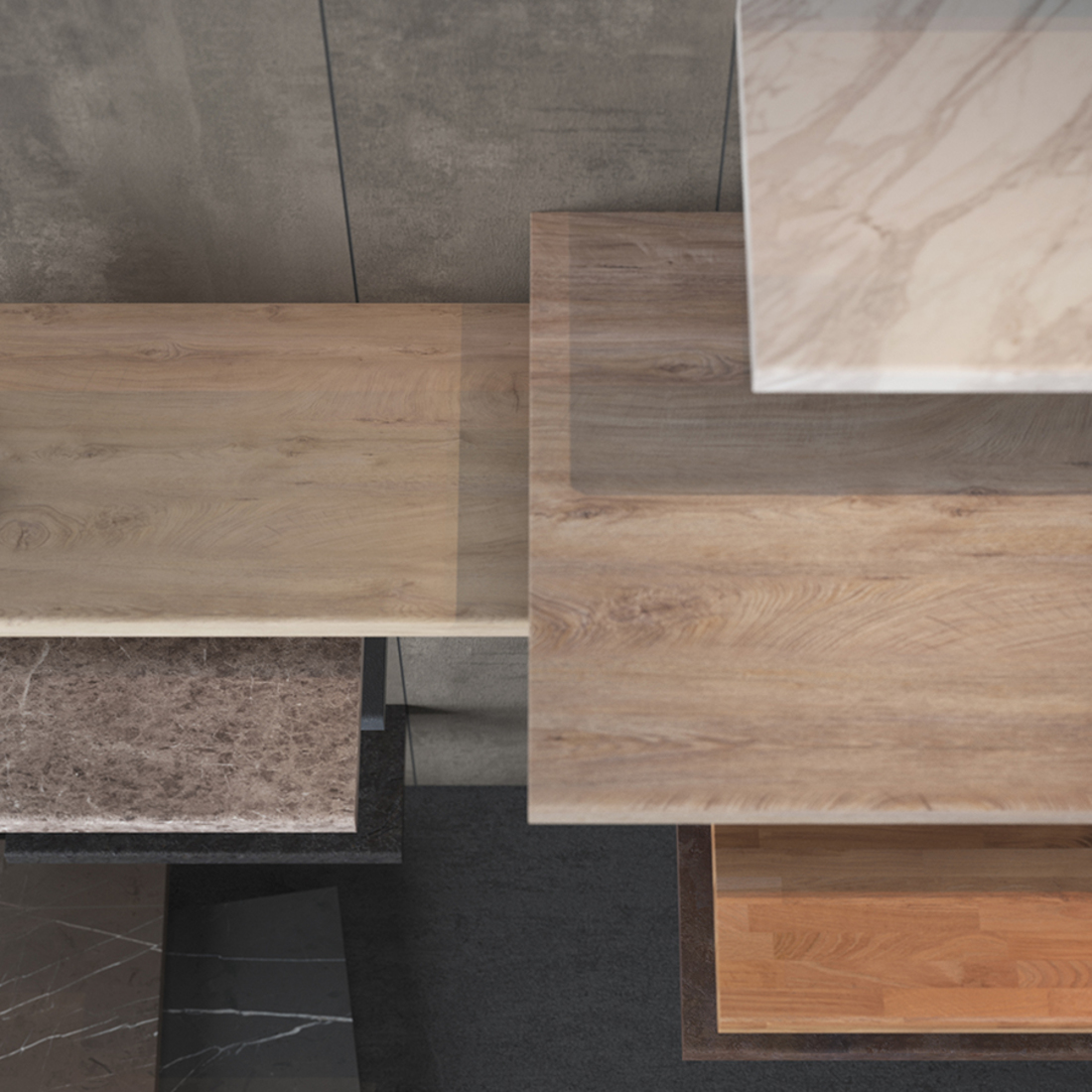 Brown Pietra Marble